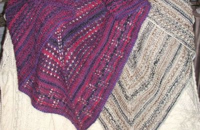 Shawl Aliselle : encore des photos...