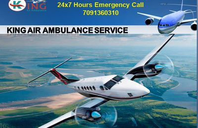King Air and Train Ambulance Service in Hyderabad: Advanced and Hi-tech Emergency ICU Setup Service