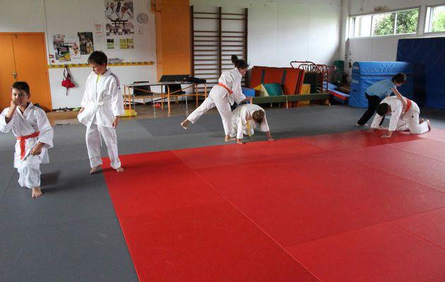 Enfants. L'Aikido.