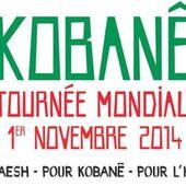 Kobané : Journée mondiale de solidarité le 1er novembre