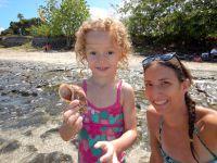 Les premières plages : Mahana Park et Toaroto