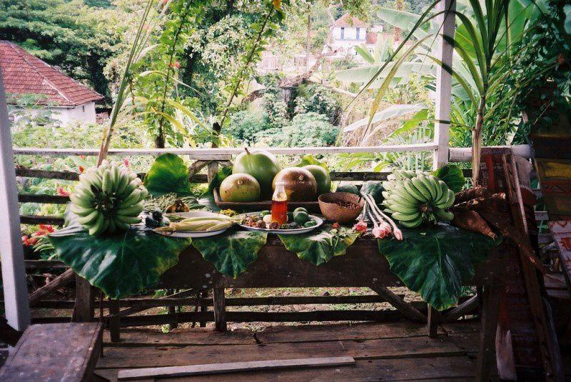Imágenes de Santo Tomé y Príncipe.- El Muni.