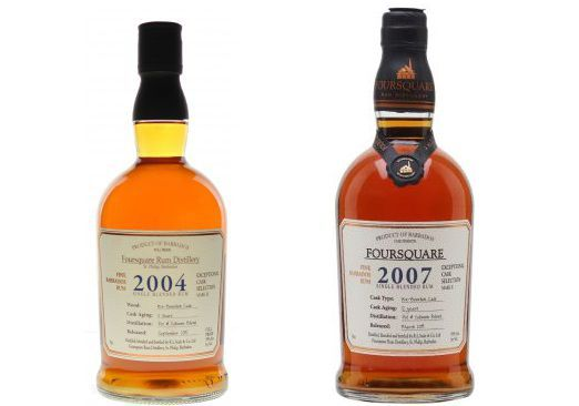 Foursquare Cask Strength 2004 VS Foursquare Cask Strength 2007