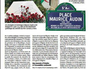 Dans Hommes&Libertés, la revue de la LDH, article de Pierre Mansat sur l'Association Josette et Maurice Audin #Audin