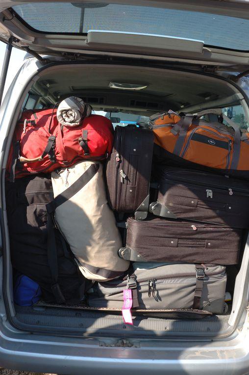 Unser Weg von Livingstone nach Chobe und unser erster Tag im Chobe.
