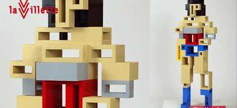 [Sortir] La Villette : une exposition LEGO des super-héros DC, jusqu'au 19 août