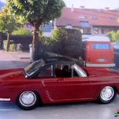 RENAULT FLORIDE CABRIOLET BORDEAUX HARD TOP 1959 VEREM 1/43 - car-collector.net