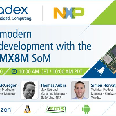 Webinar: Simplify Modern Product Development with the Verdin iMX8M Mini and Nano SoMs