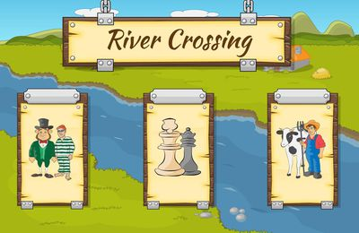 Jeux sur mobile - River Crossing
