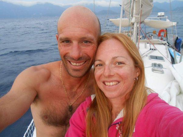 Coucher de soleil entre la baie de Mortella et Saleccia, et notre première pêche !