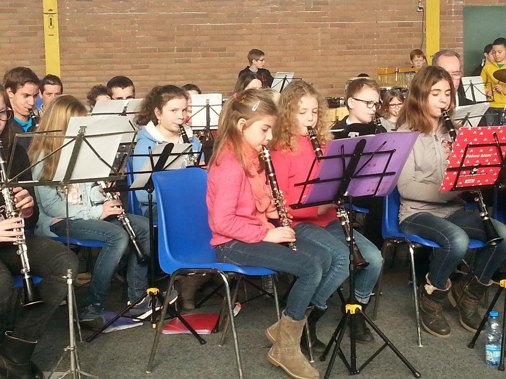 Rassemblement annuel des classes d'orchestre de la délégation