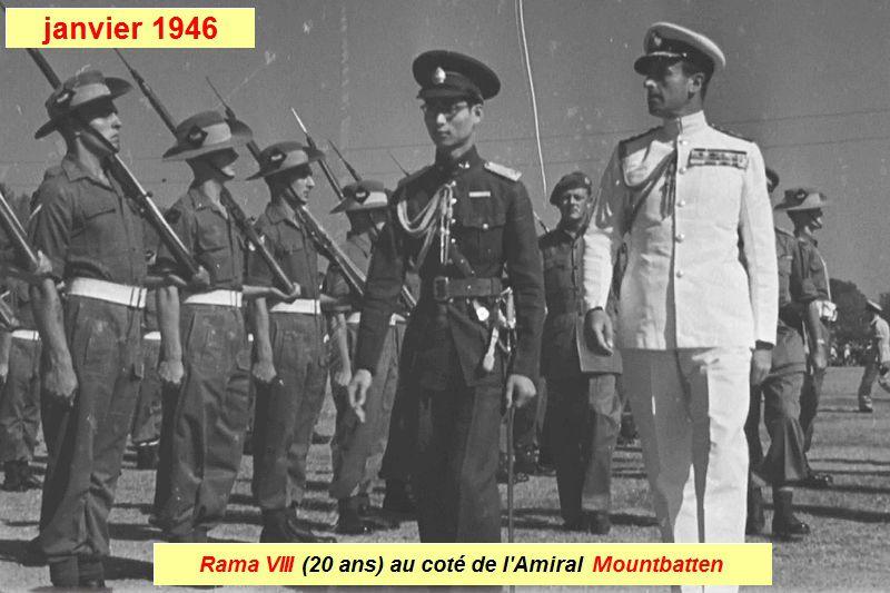 20 septembre : date anniversaire du roi Rama VIII