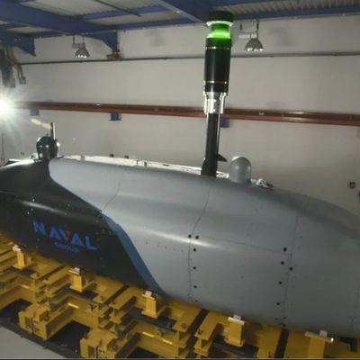 La guerre sous-marine de demain : La France rentre dans le carré d'as des constructeurs de XLUUV .