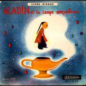 Aladin et la lampe merveilleuse par Claude Winter - l'oreille cassée