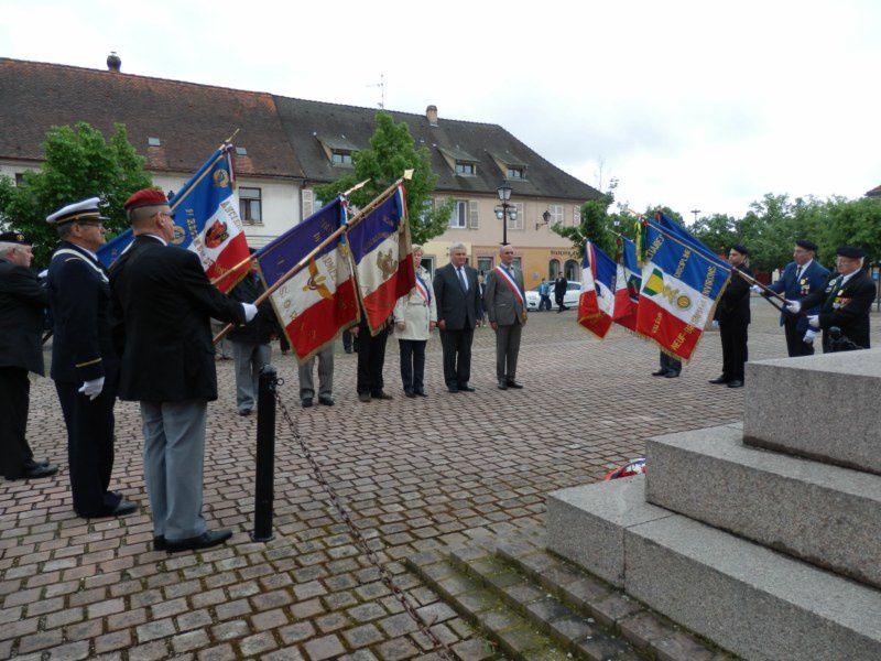 Cérémonie: La Journée des Déportés à Neuf-Brisach