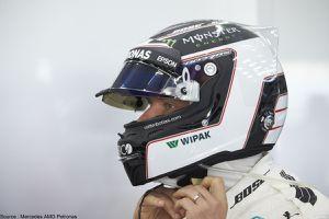 Valtteri Bottas veut changer le design de son casque