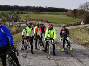 Sortie ce lundi pour une douzaine de cyclos avec au programme 80kms et le soleil !!!