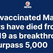 Insanity: Hospitalizations and Deaths Among Vaccinated Surge, While Health Authorities Blame the Unvaccinated