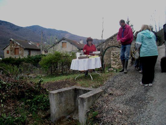 retrouver et entretenir les sentiers du village