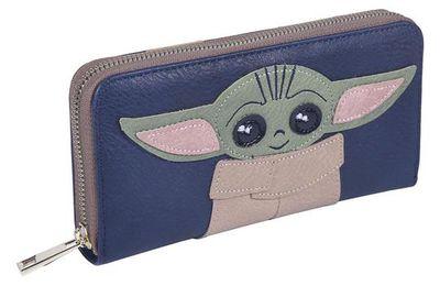 Portefeuille porte-cartes Yoda