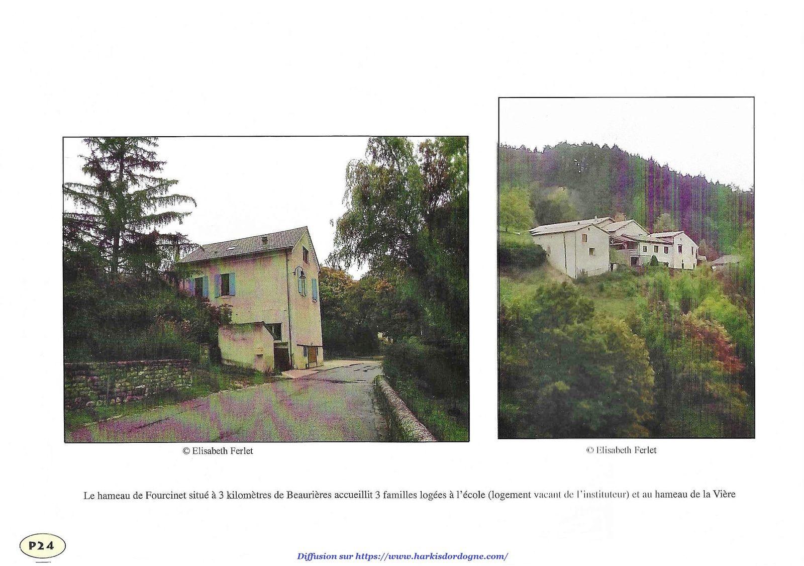 ONAVG de la Drôme (26) : Le hameau de forestage de Beaurières 1962-1975 de 22 à 28 sur 28