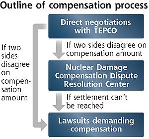 TEPCO and lawsuits