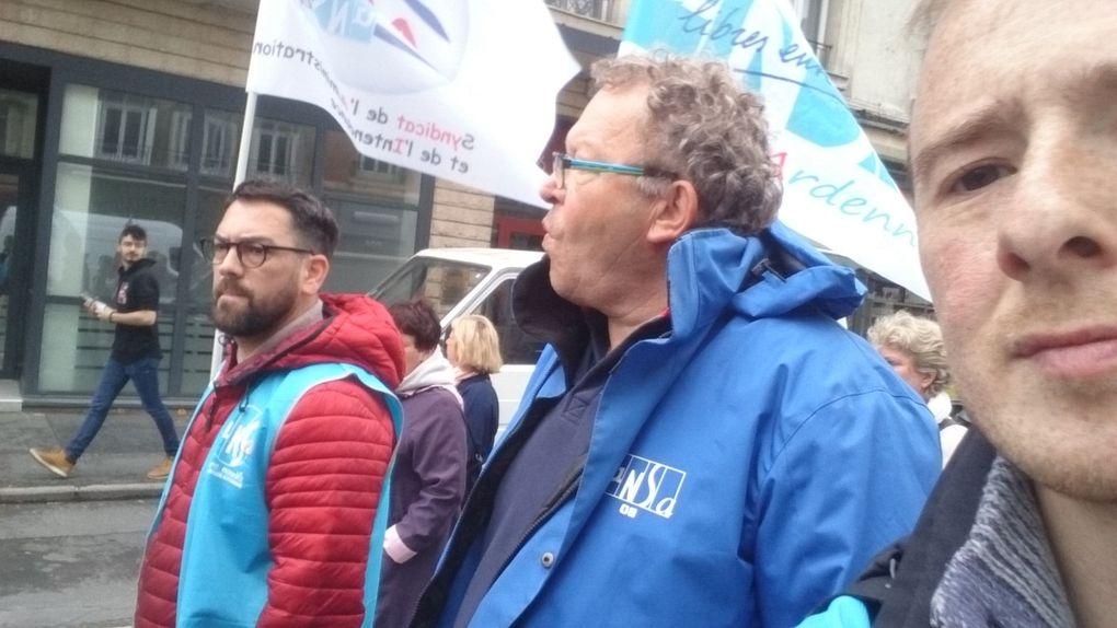 Manifestation dans les Ardennes le 09/05/2019