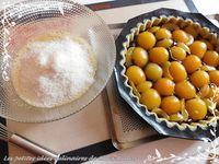 Tarte abricot chococo