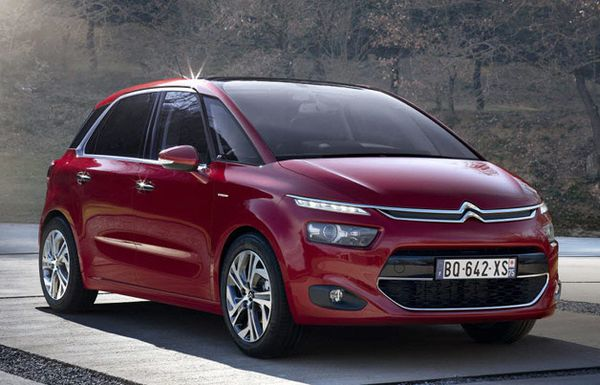 CITROËN C4 PICASSO WINS THE 2013 GOLDEN STEERING WHEEL