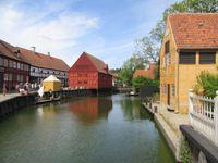 Visite du muséeen plein air de la vieille ville à Aarhus (Den Gamle By)
