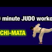 "10 minute JUDO workout ""Uchi-mata"""