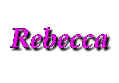 Rebecca, Rébecca