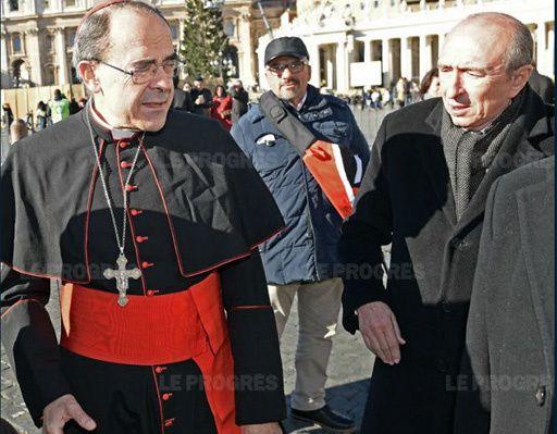 Collomb à l'Intérieur: la réaction du cardinal Barbarin