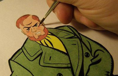 Blake & Mortimer by Yves Rodier: the exclusive pictures of the making-off