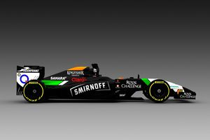Diageo place Smirnoff chez Sahara Force India