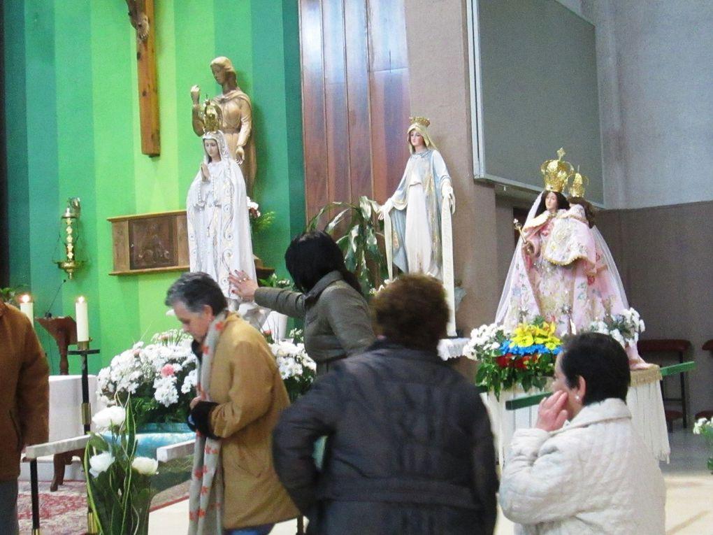 Rosario de la Aurora en Gamonal