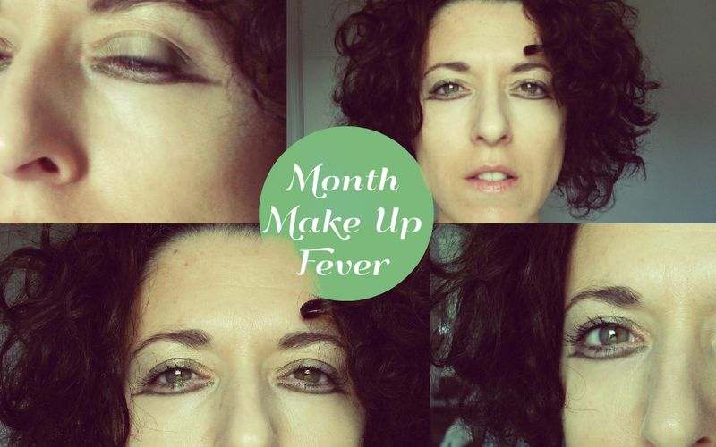 Maquillage Graphique Simple ~ Liner Kaki Inversé ~ MMUF ~ Mai 2015