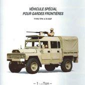 ACMAT VLRA TPK 4.16 SGF garde-frontière au 1/50 (par Patrick Comelli et Eric B.) -