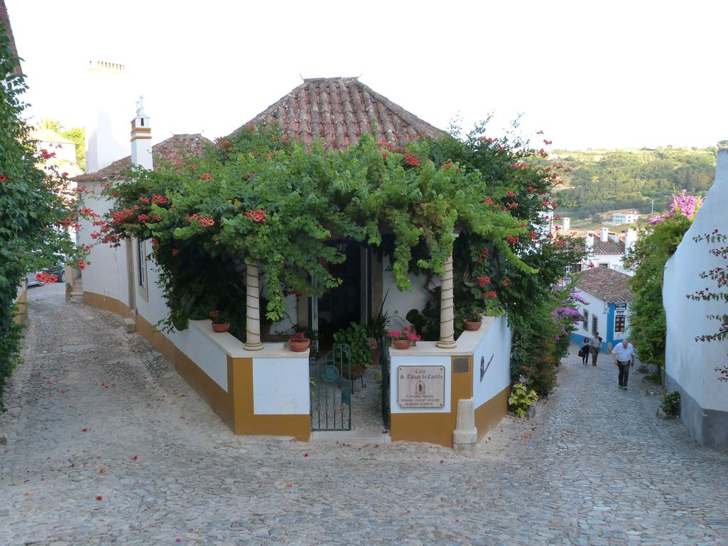 Lagoa de Óbidos et Óbidos