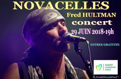 Concert FRED HULTMAN le 29 JUIN -NOVACELLES-