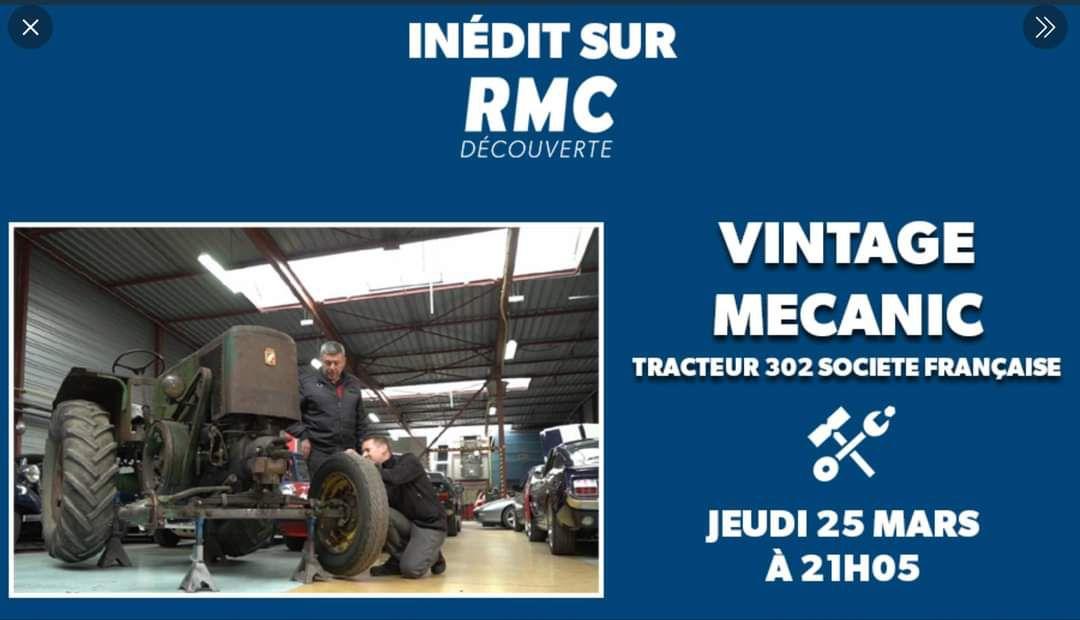 Un tracteur de Vierzon, vedette sur RMC découverte !