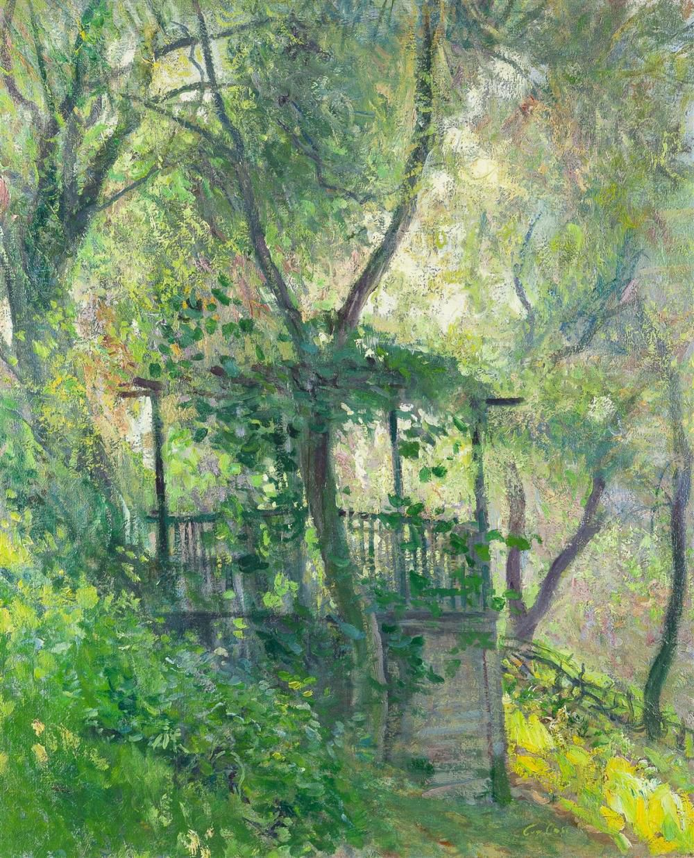 Guy Rose - The old summerhouse