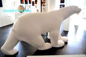 L'ours de Pompon sur l'Ile de Ré