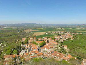 Vue de Nonette de la Croix ( vue panoramique en haut de Nonette)