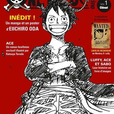 One Piece Magazine Volume 1 « LE journal des 20 ans de One Piece !!! »