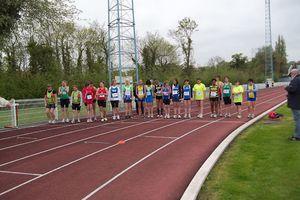 Marche athlétique aux Interclubs à Haubourdin le 6 mai