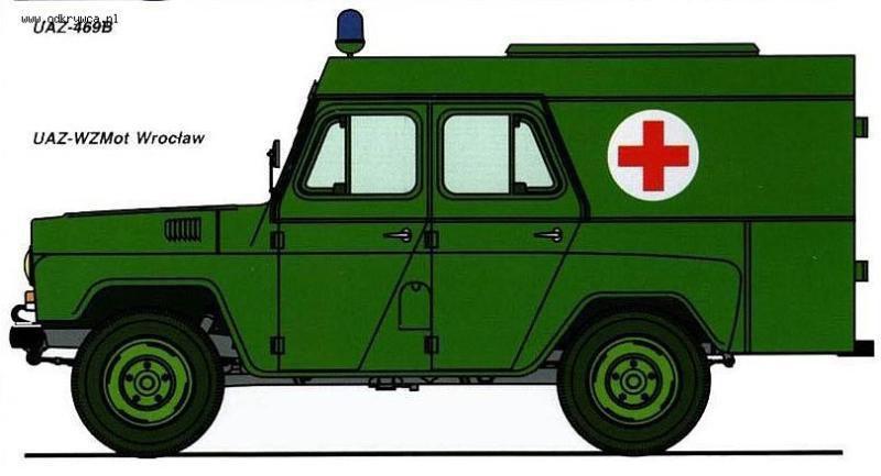 Modification : UAZ 469 B sanitaire au 1/43 (par Hervé C.)