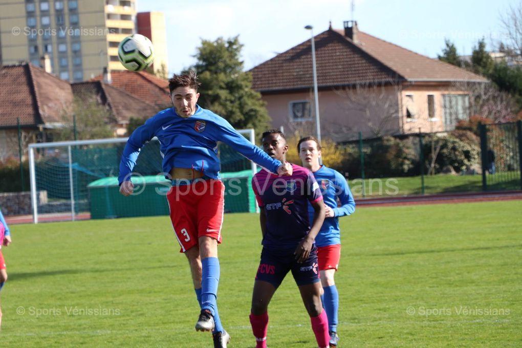 Séduisants puis apathiques, la reserve de Venissieux FC laisse filer deux points