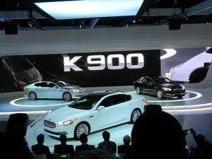 Kia K900, c'est officiel!!!