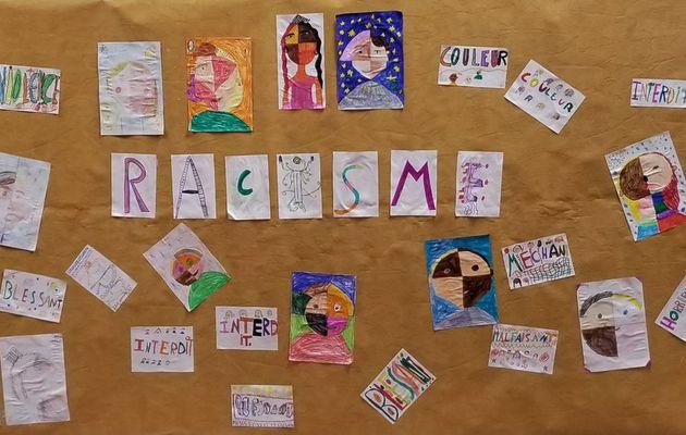 TOUS ENSEMBLE A L'ECOLE - CE2 - Non au racisme !